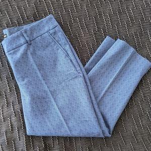 NWT Hilary Radley Crop Pattern Pants